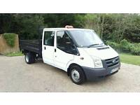 FORD TRANSIT TIPPER -- NO VAT -- ONLY 77K FULL SERVICE HISTORY ONE OWNER