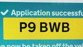 PRIVATE REG PLATE FOR SALE