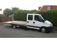 IVECO DAILY RECOVERY van CREW CAB 2008 LOW MILAGE ALUMINIUM BODY HPI CLEAR