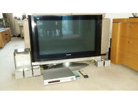 Panasonic 37 inch HD Plasma TV plus Sony DVD/radio surround sound
