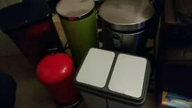 5 bins