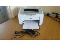 HP Laser JetPro P1102 Printer with 2 toners with free Wireless network adaptor