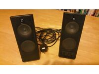 Logitech desktop speakers. Full Working order.