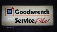 GM Goodwrench Sign
