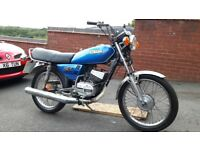 Yamaha rxs100,12 MONTHS MOT,Classic 2 STROKE,lightly restored (not 125) CAFE RACER
