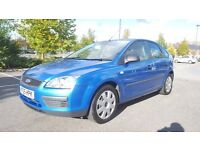 2005 FORD FOCUS LX TDCI BLUE 6 MONTHS M.O.T GOOD CONDITION, FULL SERVICE HISTORY
