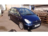 A good reliable, economical family car with towbar. MOT July 18. m'tce history.Has few minor dents