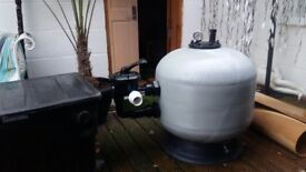 Sand filter 25inch brand new