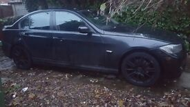 BMW 318d 61 PLATE CAT D repaired BLACK