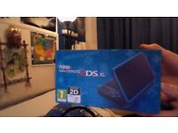 2DSXL with box, games and 64g micro sd