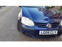 Vw golf mk5 long mot service history cheap on fuel tax tidy alloy cd 6speed economical £1650
