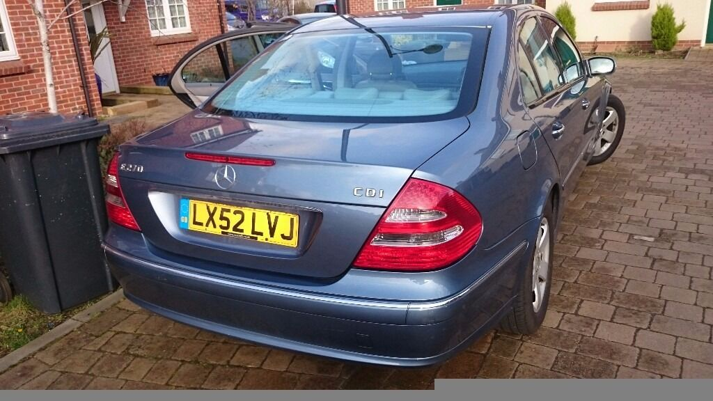 Mercedes E270cdi long mot