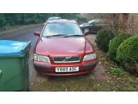 Volvo S40 2001, parts/spares/ for fixing up