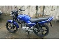 Yamaha YBR125. New MOT. Full service. Well looked after.