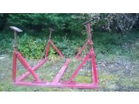 Yacht cradle,boat,sailing boat,stands,yacht legs,yard,cradle,jacks,supports,fin keel,long keel