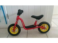 PUKY LRM balance/strider bike (red)
