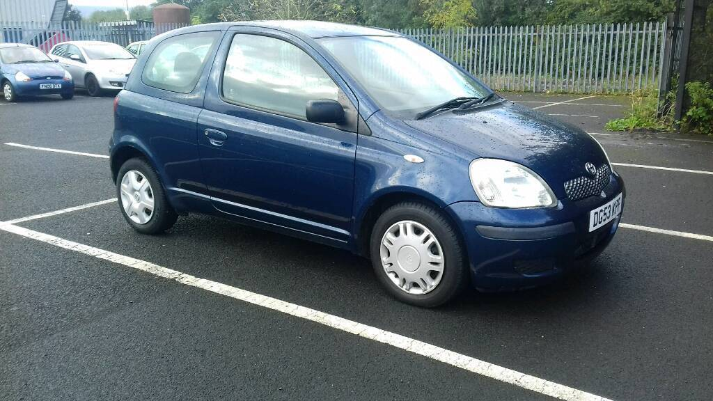 2003 Toyota yaris 1.0 litre petrol Full 12 Months mot Very cheap to run and insurance
