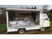Classic French Peugeot J9 Catering Van Food Truck 1987 Barn Find Restoration Project LHD - J7 HY