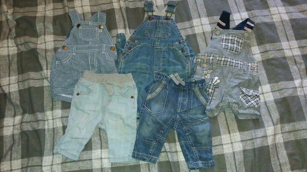 Baby bundle 0-3 boys denim