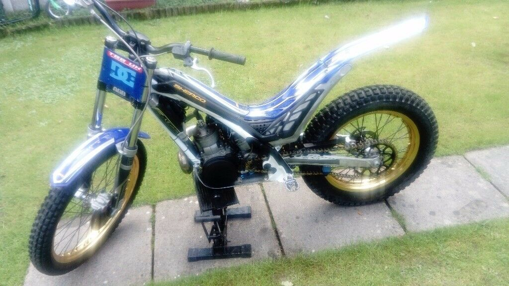 IMMACULATE SHERCO 250 2011 EVOLUTION