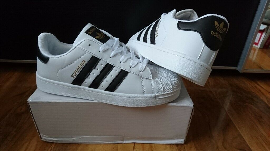 en soldes 731f0 12484 Mens Womens Adidas originals Superstar Trainers shoes size 7.5 White Nike  air max 90 air jordan | in Enfield, London | Gumtree
