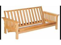 3 seater futon sofa bed (frame only)
