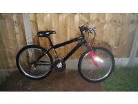 Emmelle front suspension mountain bike