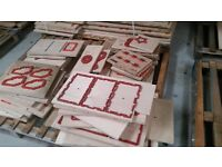 we have some very interesting cutting and creasing forms for the packaging industry...