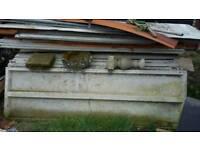 Concrete sectional garrage