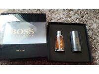 Mens hugo boss 'the scent' gift set