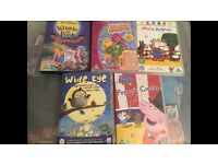 Children's DVDs x 5