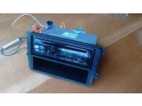 VW T5 Transporter Kenwood Bluetooth stereo radio head unit