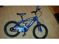Boys blue Star wars bike, 16 inch wheels. Good Condition. Radyr Cardiff