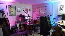 Permanent rehearsal studios for monthly hire N4 Manor House