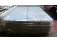 Double mattress and base