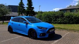 Ford Focus RS with Ghost alarm + 5years extended warranty & service pack