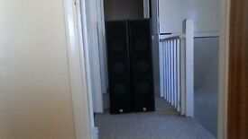 Intimidation speakers which are 120 watts