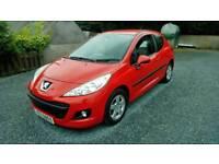 09 Peugeot 207 1.4 3 Door Nice Car 2Keys 59000 Mls Low Ins Can be seen anytime
