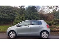 TOYOTA YARIS AUTOMATIC DIESEL, 2007, 44K MILES, FSH, HPI CLEAR, 5 DOOR, DRIVES MINT, DELIVERY AVAILA