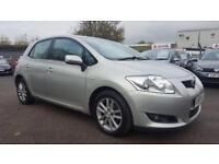 TOYOTA AURIS 1.4 D4D TR 5 DOOR 2009 / 2 KEEPERS / SERVICE HISTORY / 92K MILES / HPI CLEAR /