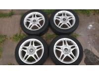 "Honda Civic /accord speedline alloys mb6 vti 16""alloys"
