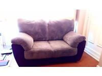 Two seater sofa settee