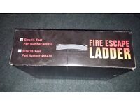 15 foot metal fire escape ladder