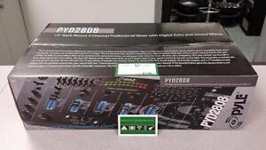Pyle PYD2808 4 Channel DJ Mixer