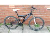 Adults MUDDYFOX Bike 18 inch frame 26 inch Wheels Good Working Condition ready to ride