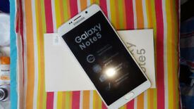 Samsung Galaxy Note 5 in a Box with all the Accessories