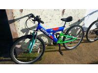 reflex hakka full suspension mountain bike Tiverton/Exeter