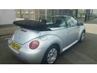 2004 VW BEETLE 1.9TDI..CONVERTIBLE..MOT..SERVICE HISTORY..HPI CLEAR..LOVELY DRIVE..HPI CLEAR