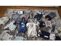 Big baby boy bundle 0-3 over 90 items
