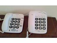 BT Big Button Phone x 2